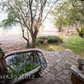 Musango Safari Camp: Unser Stein-/Zelt-Chalet für die nächsten 3 Nächte