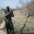 KNP: Unser Guide auf der Walking Safari