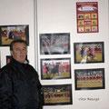 2013 - Cabeço de Vide - Junto das minhas fotos em exposição colectiva.