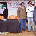 2013 - Cabeço de Vide c/ Vereador da C.M. Fronteira e Vitor Besugo(director do forcadoamadorblogspot)