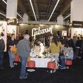 Gibson Stand auf der Musikmesse