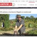 Art s'invite à Magrie expo invité d'honneur Vanorbeek