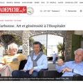 Expo à Narbonne, l'Hospitalet, Yann Arthus-Bertrand, Jean-Pierre Rives, Bernard Bertrand, David Vanorbeek