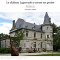 MetalloTextile, projet d'art de Natalie Magnin et de David Vanorbeek, artistes au Château de Lagravade