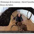 David Vanorbeek, sculptures d'insectes, Agen, France