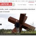Expo Vanorbeek Sculptures monumentales en métal
