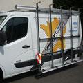 Porte verre latéral G sur Renault Trafic EAS auto