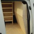 Cloison de séparation en bois pour véhicule utilitaire EAS auto