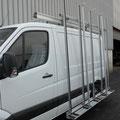 Pupitre Porte vitre  en Alu pour fourgon utilitaire EAS auto