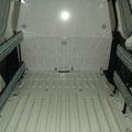 Rail d'arrimage avec cloison de séparation métal pour fourgon utilitaire EAS auto