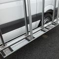 Sabot Porte verre  sur fourgon utilitaire EAS auto