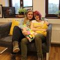 Literaturwerkstatt Das gelbe Sofa