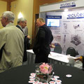 The ECUTEC booth was quite busy throughout the event.