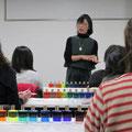 2017年2月 宇部市 和み彩香カラーセラピー体験会(セミナー)