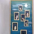 Insomniaques, 2011, 77 x 48 cm