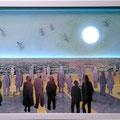 Vers l'horizon, 2016, 41 x 85 cm, lumière intégrée