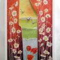 Feu de printemps, 2011, 73 x 45 cm