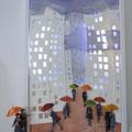 Pluie sur la ville, 2011, 81 x 51 cm (vendu)