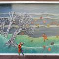 Fin d'automne, 2014, 61,5 x 83 cm