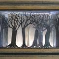 La Forêt, 59 x 43 cm