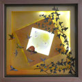 Rêverie, 2016, 40 x 40 cm, lumière intégrée (leds)