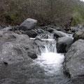 Wasserlauf in der Caldera