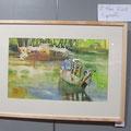 André MEHU ~ 1er prix exaequo aquarelle/pastel/encre
