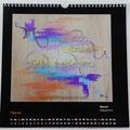 """Kalender 2019- Februar """"Spruch""""...Kalligrafie 2018"""