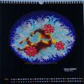 "Kalender 2015- Mai ""Innere Gefühle"" mit Öl auf Leinwand 2014"
