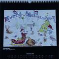 """Kalender 2014- Dezember """"Weihnachten"""" 2013"""