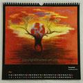 "Kalender 2020- Mai ""Feuerball""...Pastellkreide 2019"