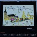 """Kalender 2018- Dezember """"Weihnachten"""" 2017"""