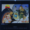 "Kalender 2013- Oktober ""Kinderarmut"" mit Öl auf Leinwand 2012"