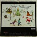 """Kalender 2020- Dezember """"Weihnachten""""...Copicstifte 2019"""