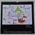 """Kalender 2019- Dezember """"Weihnachten""""...Bunt-, Copic/Touchstifte 2018"""