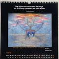 "Kalender 2021- Februar ""Emotion""...Pastellkreide 2020"