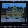 """Kalender 2016- November """"Schillerwohnhaus"""" mit Pastellkreide 2015"""