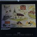 """Kalender 2014- Juni """"Die Geschichte von Tröbsdorf"""" 2013"""