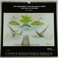 """Kalender 2020- August """"Masuren""""...Pastellkreide 2019"""