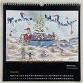 """Kalender 2021- Dezember """"Weihnachten""""...Copic, Buntstifte 2020"""