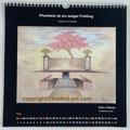 """Kalender 2021- Mai """"Park in Weimar""""...Pastellkreide 2020"""