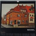 """Kalender 2017- November """"Bäckerei in Weimar"""" mit Öl 2011"""