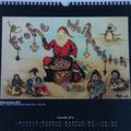 """Kalender 2013- Dezember """"Weihnachten"""" 2012"""