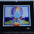 "Kalender 2016- April ""Gipfeltor"" mit Acryl 2015"