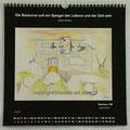 """Kalender 2020- April """"Bauhaus""""...Aquarell 2019"""