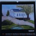 """Kalender 2016- Mai """"Römisches Haus"""" mit Pastellkreide 2015"""
