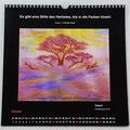 """Kalender 2019- Oktober """"Dasein""""...Pastell 2018"""