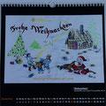 """Kalender 2015- Dezember """"Weihnachten"""" 2014"""