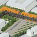 Concours habitat/commerces - La Rochelle (en association avec l'agence Unité)