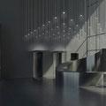 Etude hall d'accueil bureaux Legendre - Rennes, La Courrouze